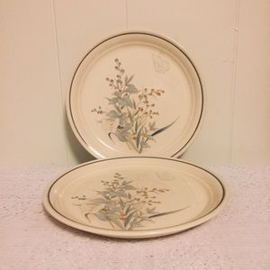 "Keltcraft Kilkee Noritake 7.5"" Salad Dishes (2)"